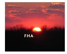 FHA Sunset